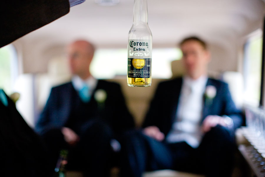 Wedding limousine photographs