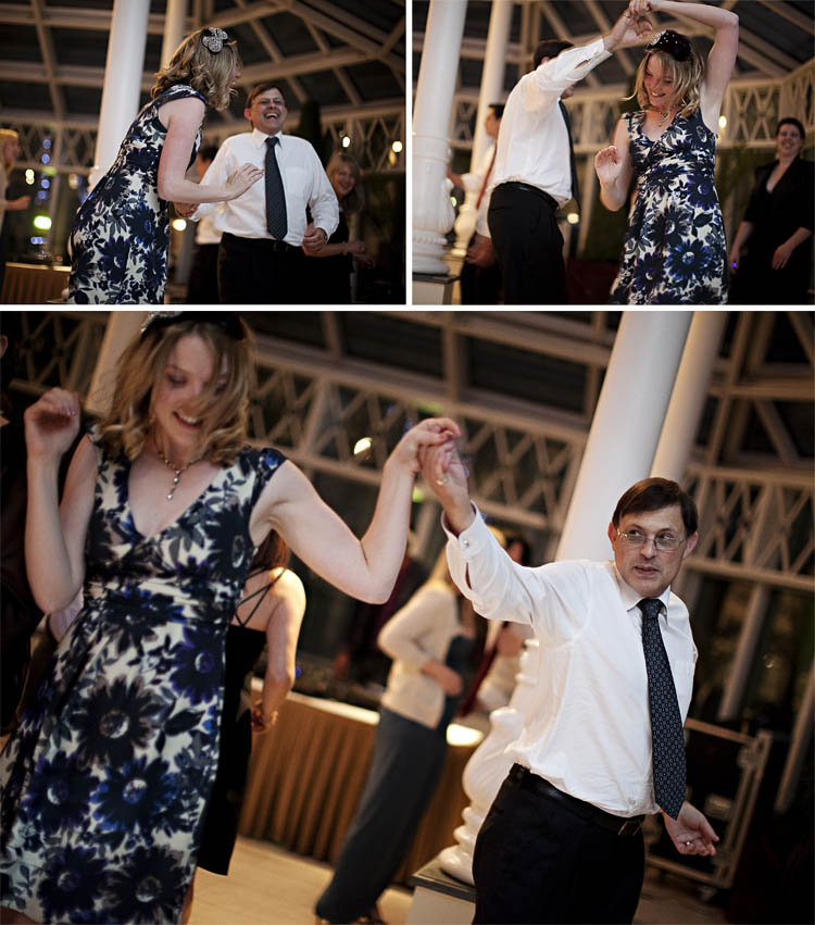 Sussex Wedding Photography of dancing