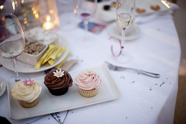 Wedding Photography details of cupcakes