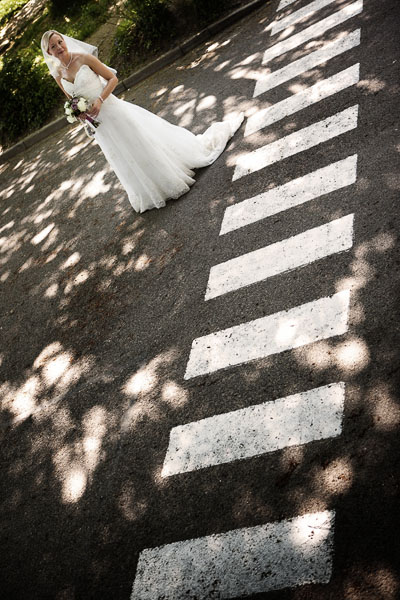 Wedding photography in Sussex of the bride