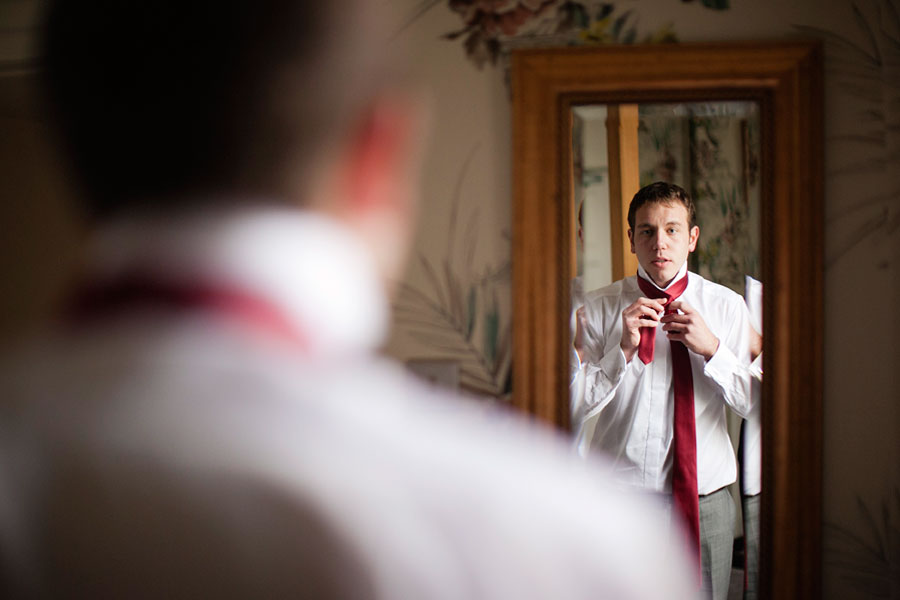 Groom Getting Ready - Brighton Wedding Photography
