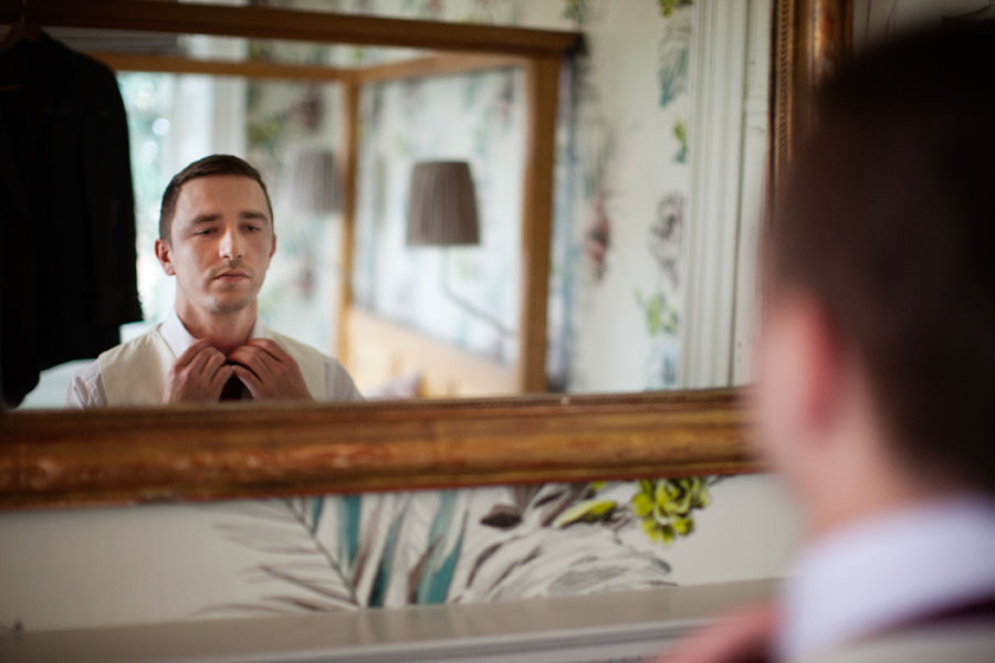 Getting Ready Brighton Wedding Photographer